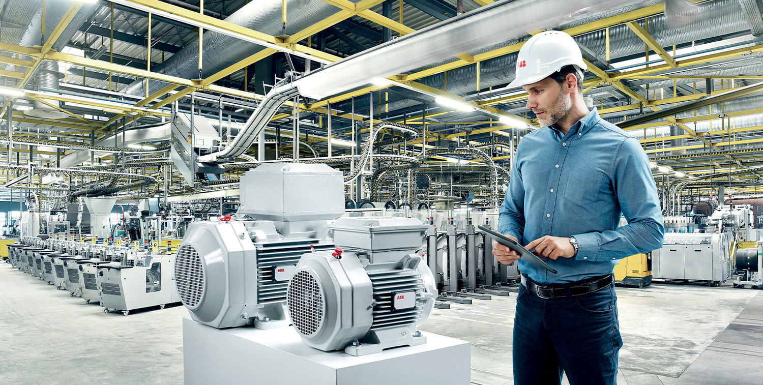 ABB and BI extend partnership to include high-efficiency IE3 motors